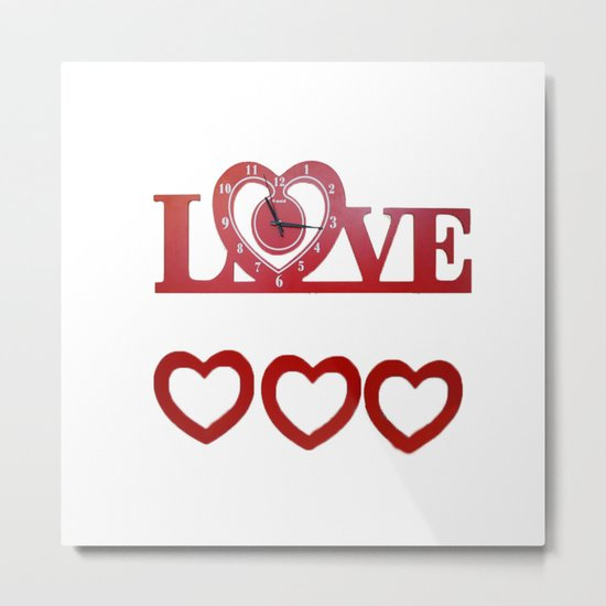 Love Time Metal Print