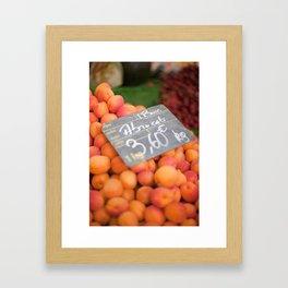 Market 3 Framed Art Print