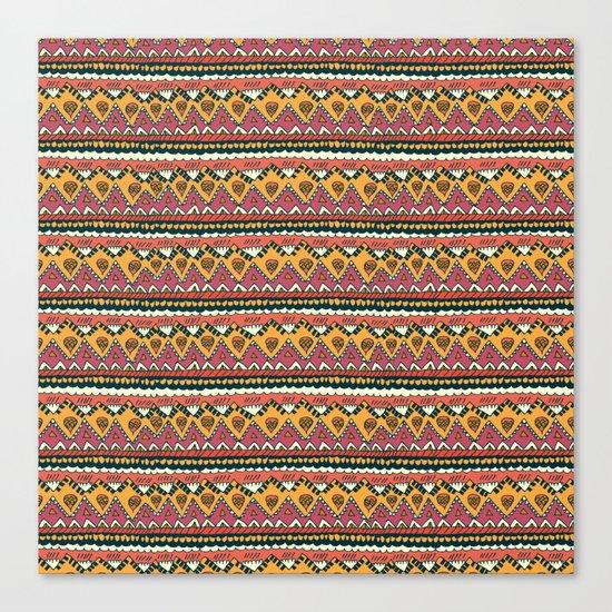 Desert Blanket Canvas Print
