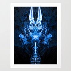 Dimonyo Art Print