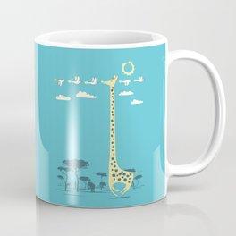 I'm like a bird (blue) Coffee Mug