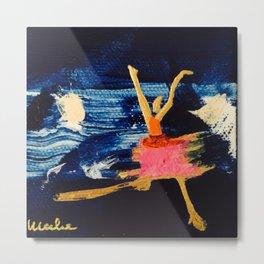 Dancing on Water Metal Print