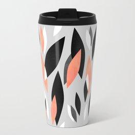 Falling Leaves Pattern Travel Mug