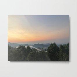 North Georgia Mountain Sunrise Metal Print