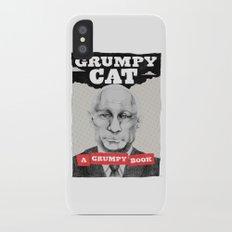 GRUMPY AS THE CAT  Slim Case iPhone X