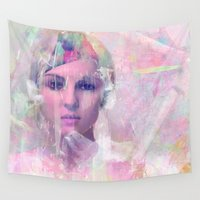 erotic Wall Tapestries featuring When you appear in my dreams by Ganech joe