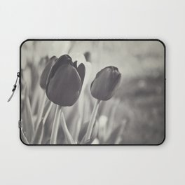 When Spring Was Here B/W Laptop Sleeve