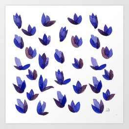 Read My Tulips Art Print