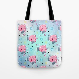 Pink Poo Tote Bag