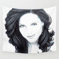 lana Wall Tapestries featuring Lana II by Sarah Krafft - @laurenarah (IG)