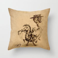 #8 Throw Pillow