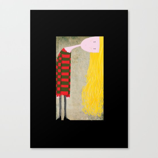 """""""Unadjusted"""" Canvas Print"""