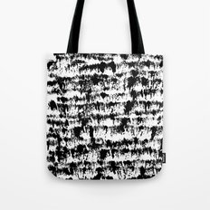 Black Pattern#2 Tote Bag
