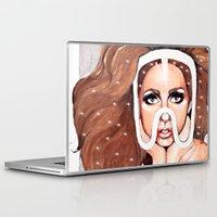 artpop Laptop & iPad Skins featuring ARTPOP by Anett Borges
