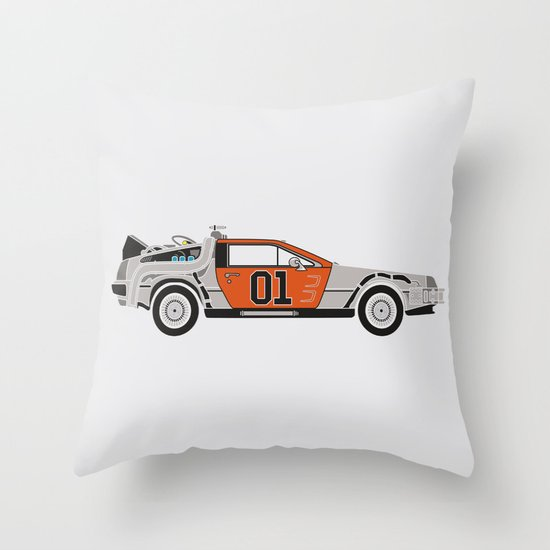 Back to the Body Shop Throw Pillow