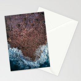 Salt Ponds in Gozo island Stationery Cards