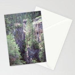 Maligne Canyon 2 Stationery Cards