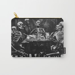 Six Skeletons Smoking Carry-All Pouch