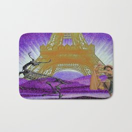 Ever dance with a skeleton? Bath Mat