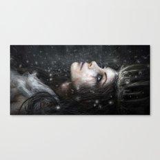 In the Dark of Winter Canvas Print