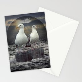 Gertrude and Heathcliff Stationery Cards