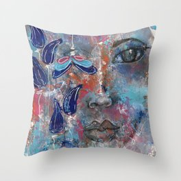 Come Through 2 Throw Pillow
