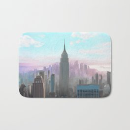 New York, New York  Bath Mat