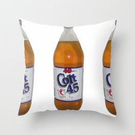 Colt 45 Throw Pillow