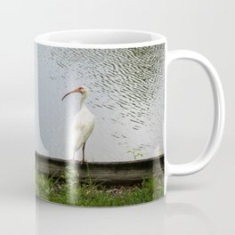 A Lakeside Chat Coffee Mug