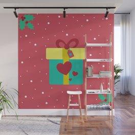 Regalo de navidad Wall Mural