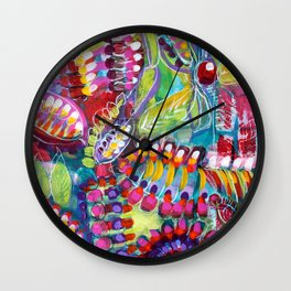 chimere de la collection au jardin Wall Clock