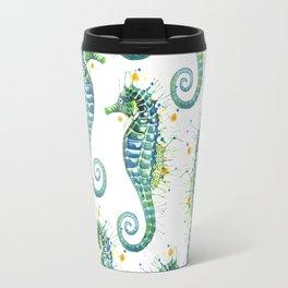 Seahorse: Green Travel Mug