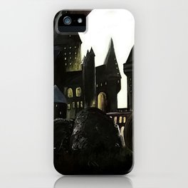 Nightmare Before Hogwarts iPhone Case
