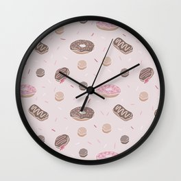 Donut Delight Wall Clock
