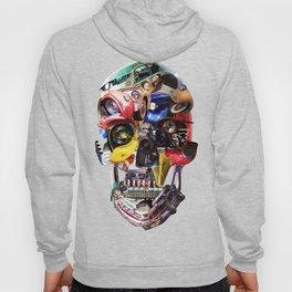 Hot Rod Skull Hoody
