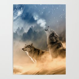 Moonrise Howl Poster