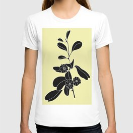 Goat's Foot (also known as Mauve Convolvulus, Beach Potato Vine, and Morning Glory) - Ipomoea pes-ca T-shirt