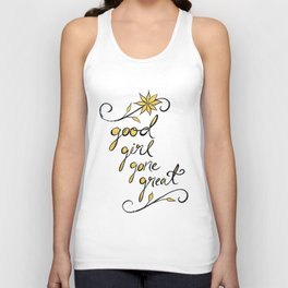 Good Girl Gone Great Unisex Tank Top