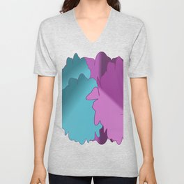 drop and roll Unisex V-Neck