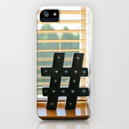Marquee Millennial iPhone Case