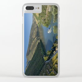 The Douro valley Clear iPhone Case