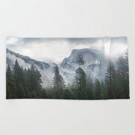 Majestic Mountain Beach Towel