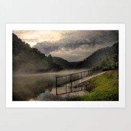Ocoee River Art Print