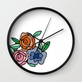 Three little friends Wall Clock