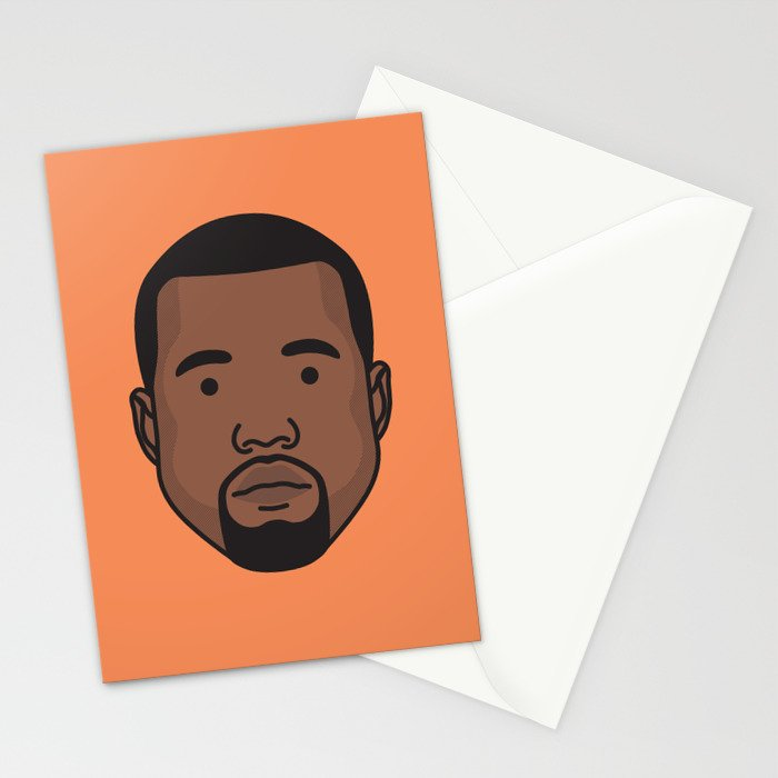 Mr West Stationery Cards