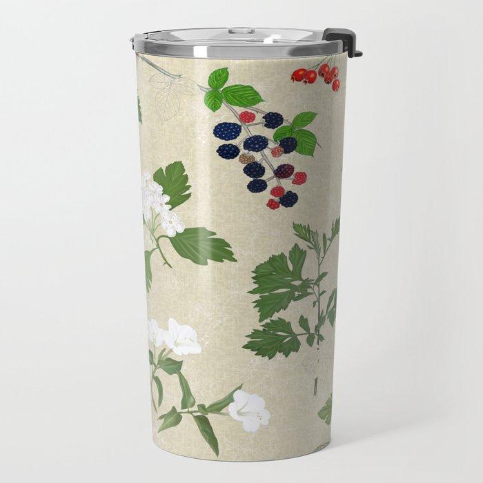 Botanical Sketchbook_letterless Travel Mug