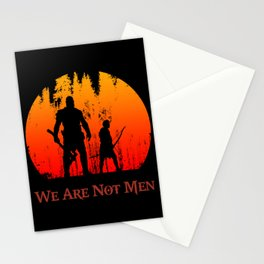 We Are Not Men Stationery Cards
