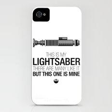 This is my Lightsaber (Luke Version) Slim Case iPhone (4, 4s)