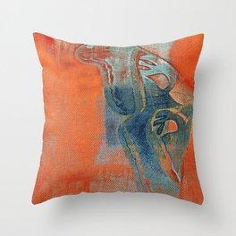 Moths 5 Throw Pillow