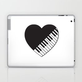 Piano Heart Laptop & iPad Skin